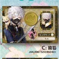 刀剣乱舞 -ONLINE- ピンズセット C:鳴狐