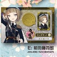 刀剣乱舞 -ONLINE- ピンズセット E:前田藤四郎