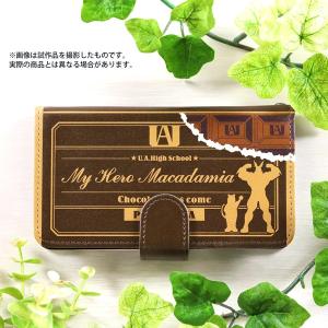 僕のヒーローアカデミア 手帳型スマートフォンケース チョコレートが来た!!