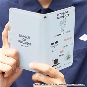 僕のヒーローアカデミア 手帳型スマートフォンケース ヴィラン