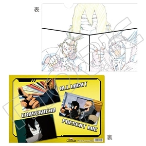 僕のヒーローアカデミア 原画クリアファイル オールマイト&相澤&プレゼントマイク