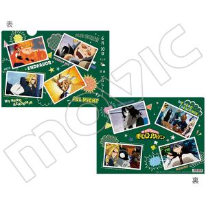 僕のヒーローアカデミア クリアファイル オールマイト&相澤&プレゼントマイク