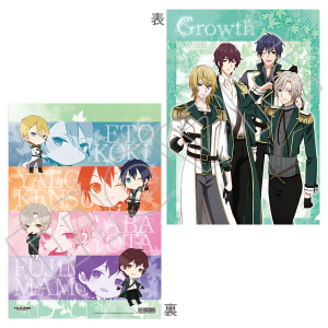 TSUKIPRO THE ANIMATION クリアファイル Growth