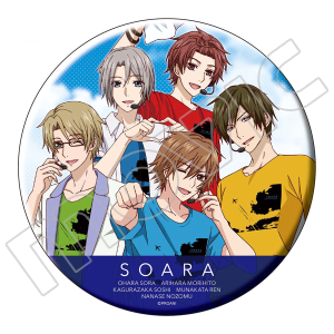 TSUKIPRO THE ANIMATION ビッグ缶バッジ SOARA