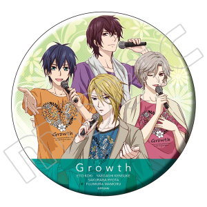 TSUKIPRO THE ANIMATION ビッグ缶バッジ Growth