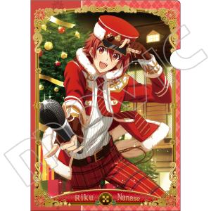 アイドリッシュセブン クリアファイル G:七瀬陸(クリスマス)