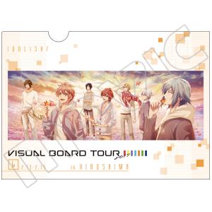 アイドリッシュセブン クリアファイル VISUAL BOARD TOUR 2017 広島