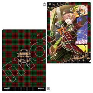 アイドリッシュセブン(原作版) クリアファイル 三月 X'mas Rock Fever!