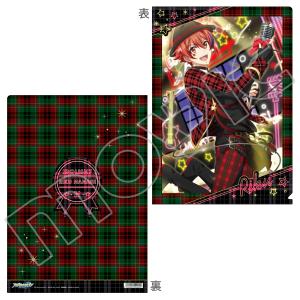 アイドリッシュセブン(原作版) クリアファイル 陸 X'mas Rock Fever!