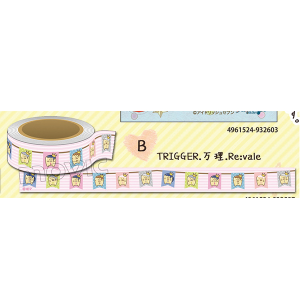 アイドリッシュセブン マスキングテープ TRIGGER・万理・Re:vale