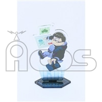 おそ松さん アクリルキーホルダー(台座付き) Hacker Ver.Karamatsu