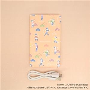 おそ松さん モバイルバッテリー pastel