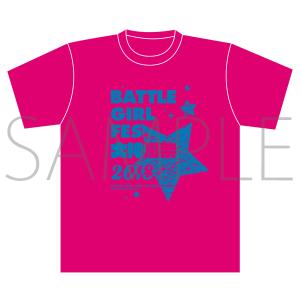 BATTLE GIRL FES. 大神樹祭 2018 イベント事後通販 Tシャツ ピンク M