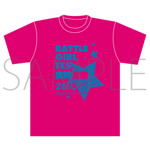 BATTLE GIRL FES. 大神樹祭 2018 イベント事後通販 Tシャツ ピンク L