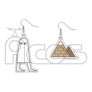 メジェド様 アクリルピアス エジプトの神様メジェド