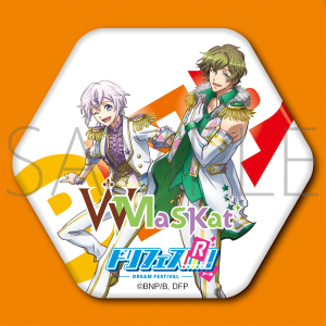 BN Pictures キャラハニ缶バッジ 【ドリフェス!R W-MaSKat】Ver.