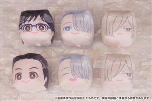 ユーリ!!! on ICE ぬいぐるみキーホルダーコレクション FACE CUBE