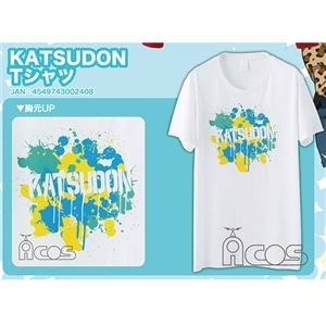 ユーリ!!! on ICE KATSUDON Tシャツ