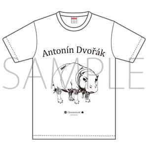 クラシカロイド ドヴォルザークTシャツ Mサイズ