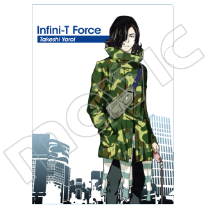 Infini-T Force クリアファイル 鎧武士