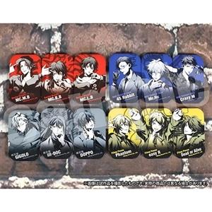 ヒプノシスマイク -Division Rap Battle- キャラバッジコレクション 四角