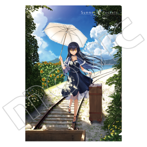 Summer Pockets クリアファイル 久島鴎