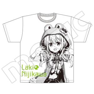 虹河ラキ オーバーサイズTシャツ