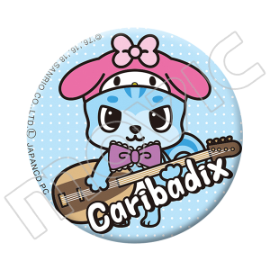 Caribadix 缶バッジ マイメロディ×カリバディクス フィーヌ