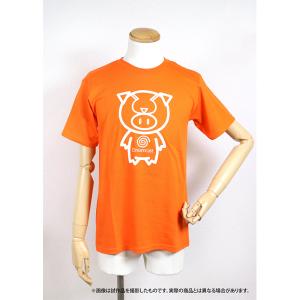 セガ SEGAハード×豊天商店・Tシャツ ドリームキャスト オレンジ Sサイズ