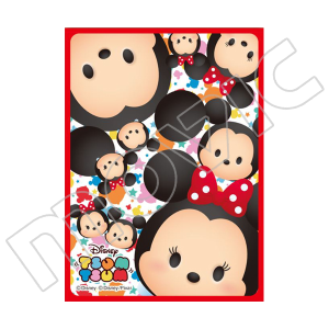 TSUMTSUMスリーブコレクション マットシリーズ 「ミッキー&ミニー」(No.MT189)