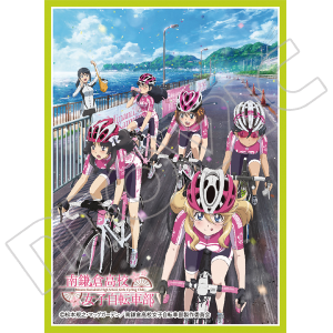 きゃらスリーブコレクション マットシリーズ 「南鎌倉高校女子自転車部 B」(No.MT346)