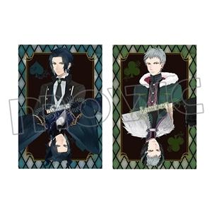 宵夜森ノ姫ポストカード 2枚セット クラウス&ランベルト