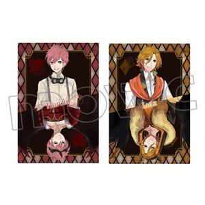 宵夜森ノ姫ポストカード 2枚セット ハーロルト&ルッツ