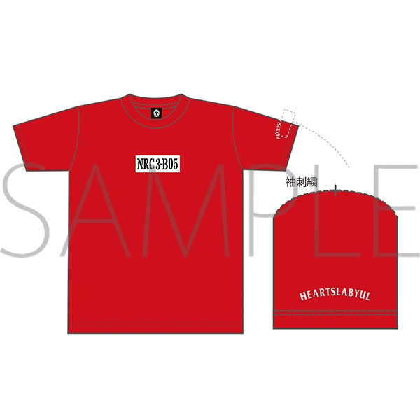 出席番号デザインTシャツ ケイト