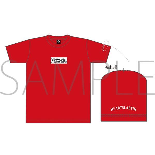 出席番号デザインTシャツ トレイ