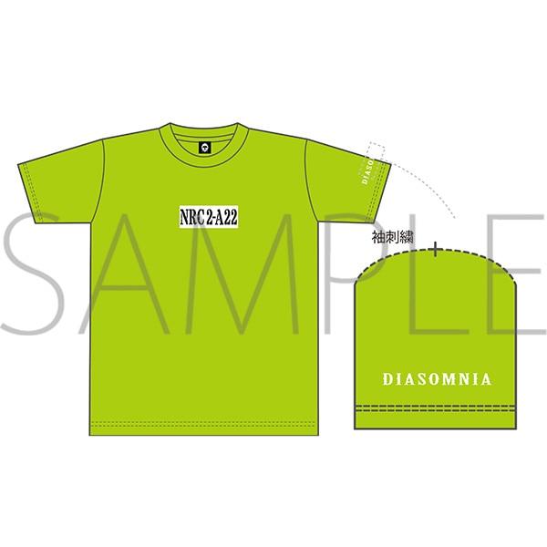 出席番号デザインTシャツ シルバー