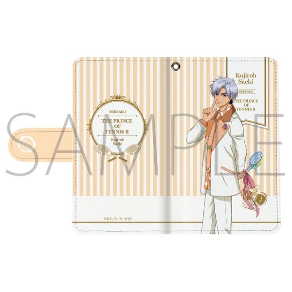 新テニスの王子様 手帳型スマートフォンケース 佐伯虎次郎