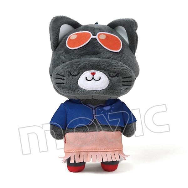 ONE PIECE アイマスク付きぬいぐるみキーホルダー withCAT ロビン