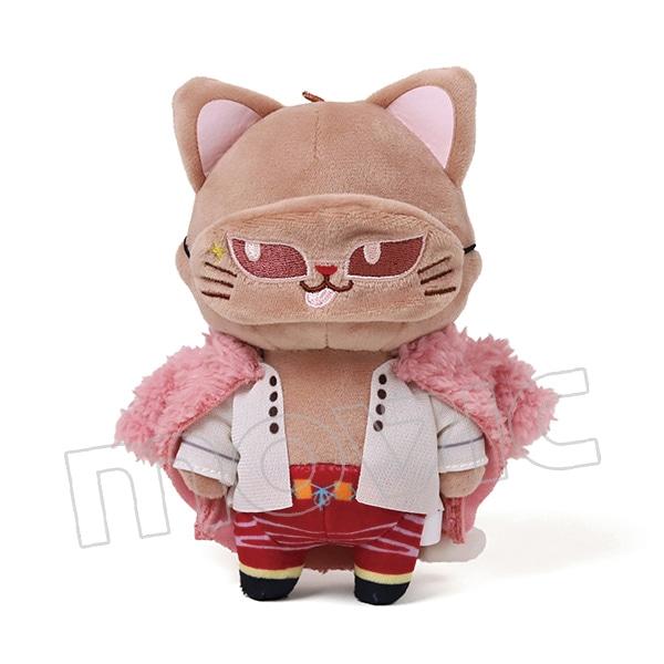 ONE PIECE アイマスク付きぬいぐるみキーホルダー withCAT ドフラミンゴ
