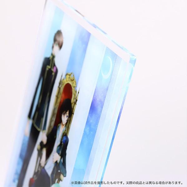 コードギアス 反逆のルルーシュ アクリルプレート ルルーシュ&スザク&C.C.【受注生産限定商品】