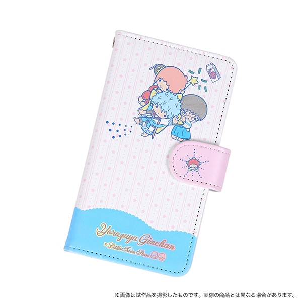 銀魂 手帳型スマートフォンケース 万事屋 銀魂×サンリオキャラクターズ