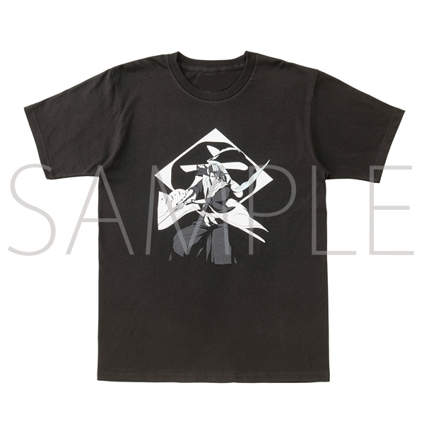 『BLEACH Brave Souls Museum』通信販売 BLEACH Brave Souls Tシャツ 朽木白哉 XS