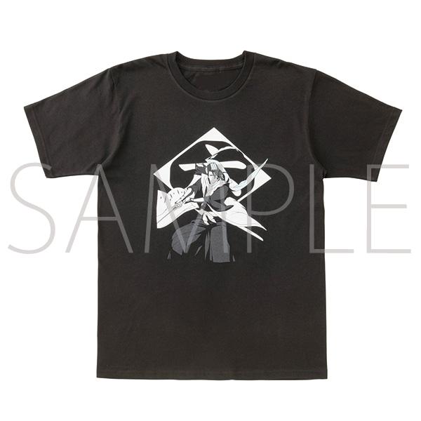 『BLEACH Brave Souls Museum』通信販売 BLEACH Brave Souls Tシャツ 朽木白哉 S