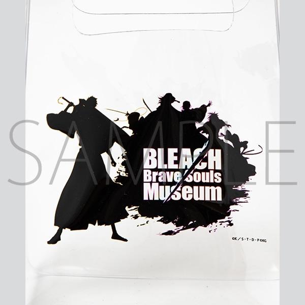 『BLEACH Brave Souls Museum』通信販売 BLEACH Brave Souls Museum コラボクリアトート(ロゴ)
