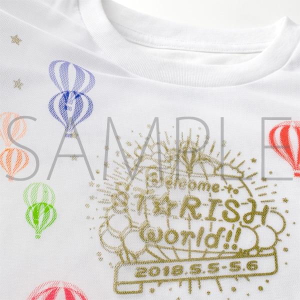 Tシャツ【受注生産】  うたの☆プリンスさまっ♪ ST☆RISHファンミーティング 「Welcome to ST☆RISH world!!」