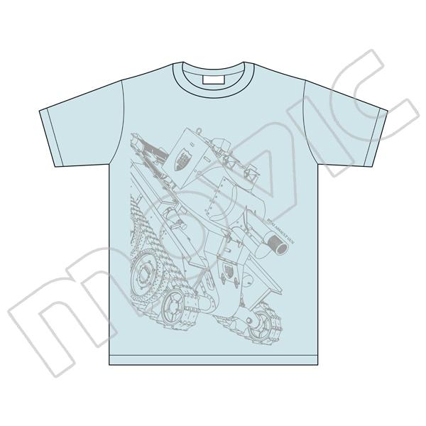 ガールズ&パンツァー最終章 Tシャツ 継続 BT-42 XL 【あんこう屋(ムービック通販)限定商品】
