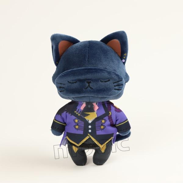 ツキウタ。 アイマスク付きぬいぐるみキーホルダー withCAT 睦月始