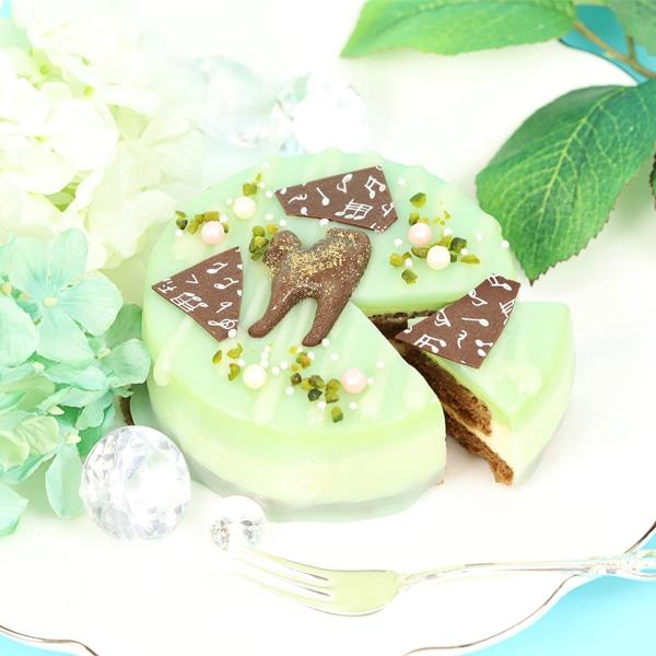 ツキウタ。 ガトールーレコラボケーキ うさぎ付き夏セット(ツキウサ。+水無月涙、文月海、葉月陽のケーキのセット)