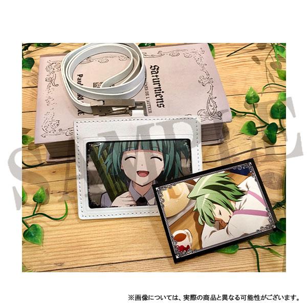 暗殺教室 レザーIDカードホルダー(ネックストラップ付) 茅野カエデ