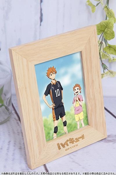 ハイキュー!! 烏野高校 VS 白鳥沢学園高校 フォトフレーム 血縁シリーズ(日向)